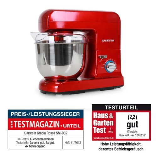 küchenmaschine 1000w test